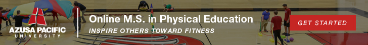 Online M.S. in Physical Education