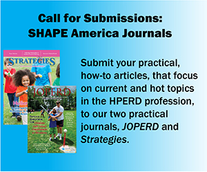 Submit your article to JOPERD and Strategies