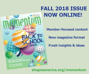 New Momentum Issue