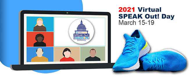 Virtual SPEAK Out! Day today